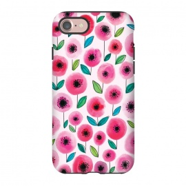 iPhone 8/7  Pink Poppy by Kimrhi Studios
