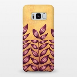 Galaxy S8+  Abstract Plant With Purple Leaves by Boriana Giormova