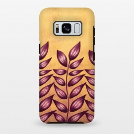 Abstract Plant With Purple Leaves by Boriana Giormova