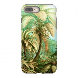 Vintage Tropical by Uma Prabhakar Gokhale (expressionism, botanical, nature, tropical, coconut tree, plam, exotic)