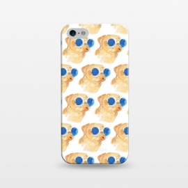 iPhone 5/5E/5s  PUGS AND SUNGLASSES by ALIPRINTS Design Studio