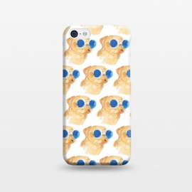 iPhone 5C  PUGS AND SUNGLASSES by ALIPRINTS Design Studio