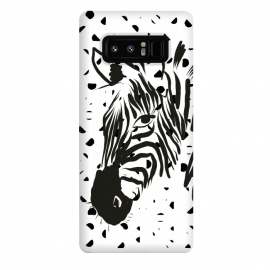 Galaxy Note 8  Monsieur Zebra by ALIPRINTS Design Studio