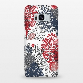 Galaxy S8+  Lagoon Versailles Red& Blue by ALIPRINTS Design Studio