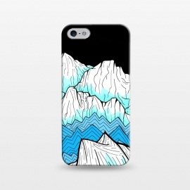 iPhone 5/5E/5s  Antarctica mountains by Steve Wade (Swade)