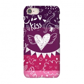 iPhone 8/7  Love in four colors by Rossy Villarreal