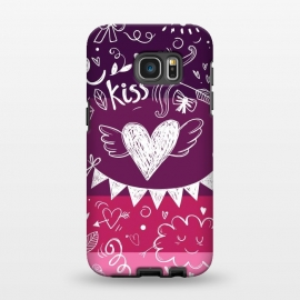 Galaxy S7 EDGE  Love in four colors by Rossy Villarreal