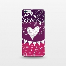 iPhone 5C  Love in four colors by Rossy Villarreal