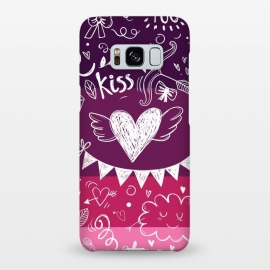 Galaxy S8+  Love in four colors by Rossy Villarreal