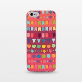 iPhone 5/5E/5s  Pennants by Rossy Villarreal