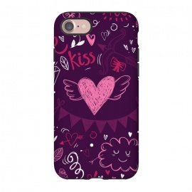 iPhone 8/7  Purple love by Rossy Villarreal