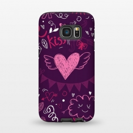Galaxy S7  Purple love by Rossy Villarreal