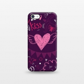 iPhone 5C  Purple love by Rossy Villarreal