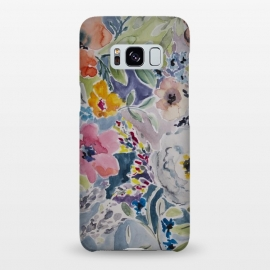 Galaxy S8+  Watercolor flower I by Susanna Nousiainen