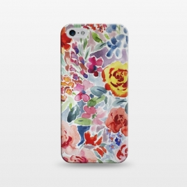 iPhone 5/5E/5s  Watercolor flower II by Susanna Nousiainen