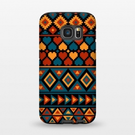 Galaxy S7  aztec traditional pattern by Dhruv Narelia