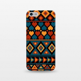 iPhone 5/5E/5s  aztec traditional pattern by Dhruv Narelia