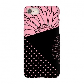 iPhone 8/7  pink floral pattern by MALLIKA