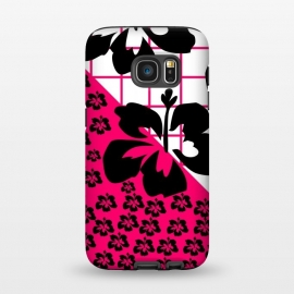 Galaxy S7  FLORAL PATTERN by MALLIKA