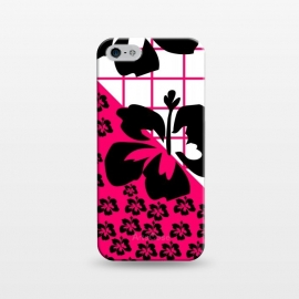 iPhone 5/5E/5s  FLORAL PATTERN by MALLIKA