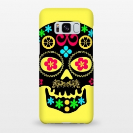 Galaxy S8+  SKULL PATTERN by MALLIKA