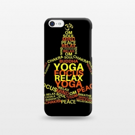 iPhone 5C  BUDDHA YOGA by MALLIKA