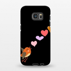 Galaxy S7 EDGE  musical bird by MALLIKA