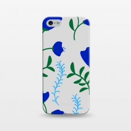 iPhone 5/5E/5s  floral pattern 4 by MALLIKA