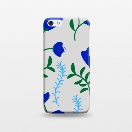 iPhone 5C  floral pattern 4 by MALLIKA