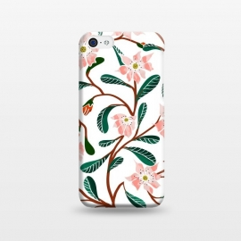 iPhone 5C  Floral Deco by Uma Prabhakar Gokhale