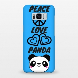 Galaxy S8+  peace love panda by MALLIKA