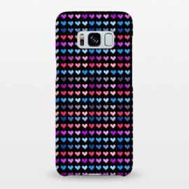 Galaxy S8+  hearts pattern by MALLIKA