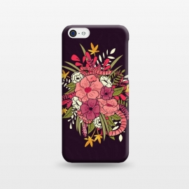 iPhone 5C  Jungle Bouquet 001 by Jelena Obradovic