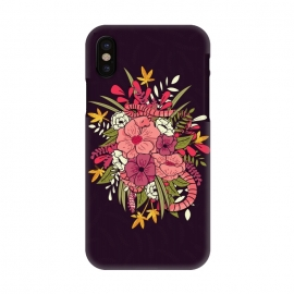 iPhone X  Jungle Bouquet 001 by Jelena Obradovic