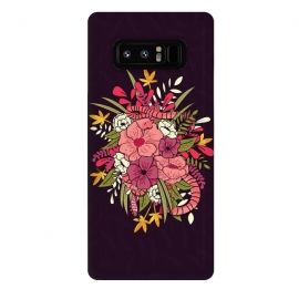 Galaxy Note 8  Jungle Bouquet 001 by
