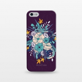 iPhone 5/5E/5s  Jungle Bouquet 002 by Jelena Obradovic