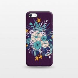 iPhone 5C  Jungle Bouquet 002 by Jelena Obradovic