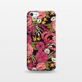 iPhone 5C  Jungle Pattern 001 by Jelena Obradovic