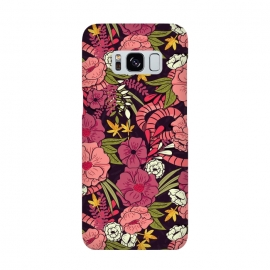 Galaxy S8  Jungle Pattern 001 by Jelena Obradovic