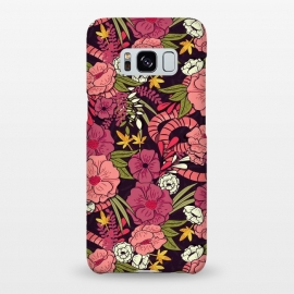 Galaxy S8+  Jungle Pattern 001 by Jelena Obradovic