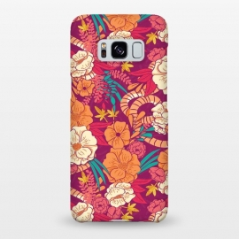 Galaxy S8+  Jungle Pattern 002 by Jelena Obradovic