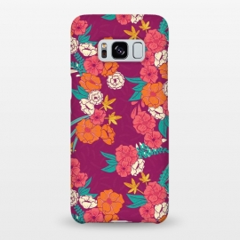 Galaxy S8+  Jungle Pattern 005 by Jelena Obradovic