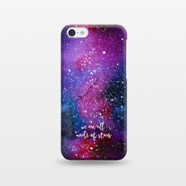 iPhone 5C  We are all made of stars - Galaxy by Stefania Pochesci (galaxy,space,stars,watercolor,quote)