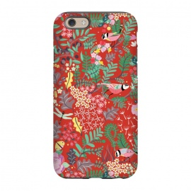 iPhone 6/6s  The secret Garden - Red by Stefania Pochesci