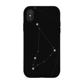 iPhone Xs / X  Capricorn Zodiac Sign by  (capricorn,zodiac,horoscope,astrology,astronomy,astro,stars,universe,constellations)