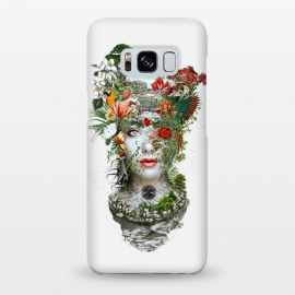 Galaxy S8+  Women by Riza Peker (digitalart,art,woman,botanical,flowers)
