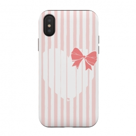 Heart Stripes by Martina (love,heart,sweet,pink,modern,vintage,retro,bow,valentine,valentines day,stylish,feminine,stripes)