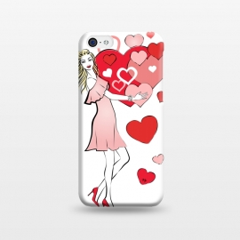 iPhone 5C  Queen of Hearts by Martina