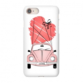 iPhone 8/7  Love Car by Martina
