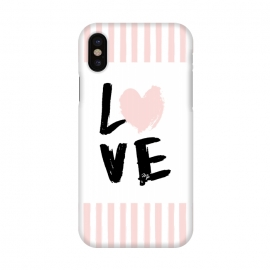 iPhone X  Pink Love by Martina